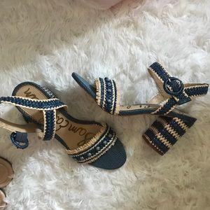 NEW Sam Edelman block heels